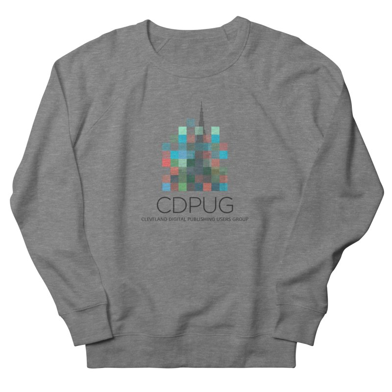 Dark Letters Logo Men's French Terry Sweatshirt by CDPUG's Artist Shop