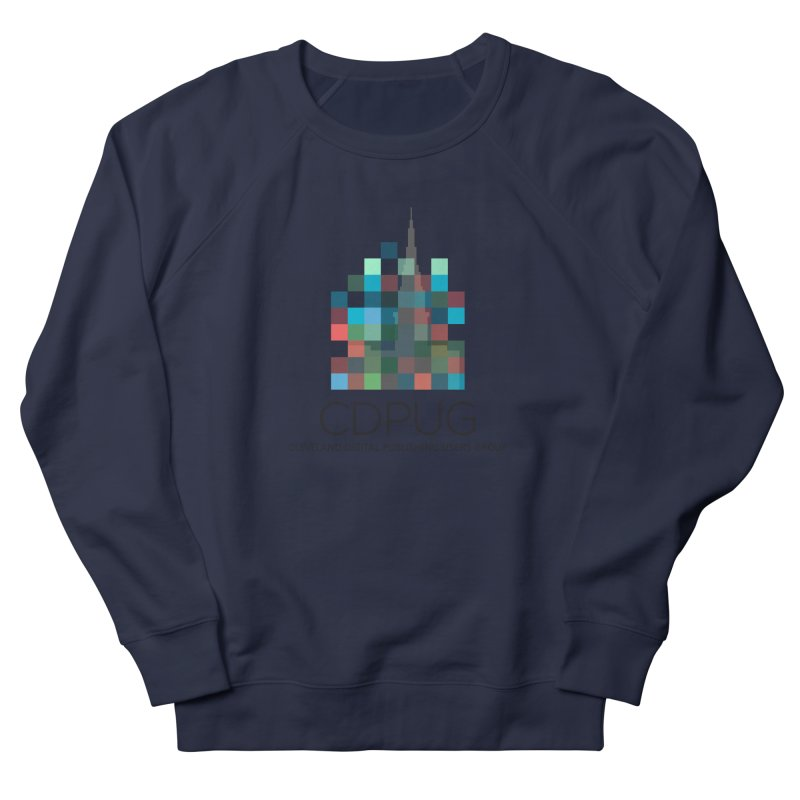 Dark Letters Logo Men's Sweatshirt by CDPUG's Artist Shop