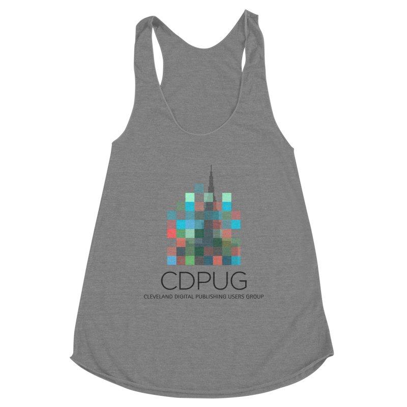Dark Letters Logo Women's Tank by CDPUG's Artist Shop