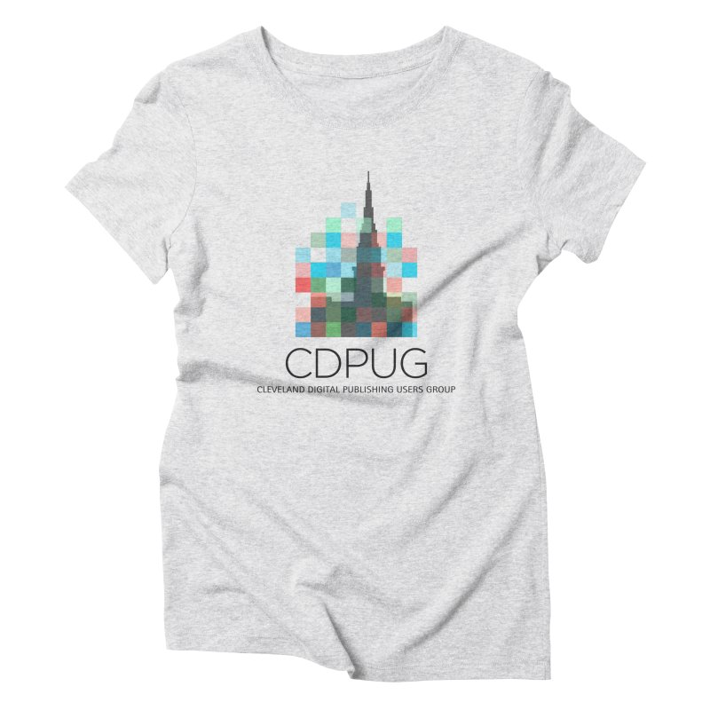 Dark Letters Logo Women's T-Shirt by CDPUG's Artist Shop