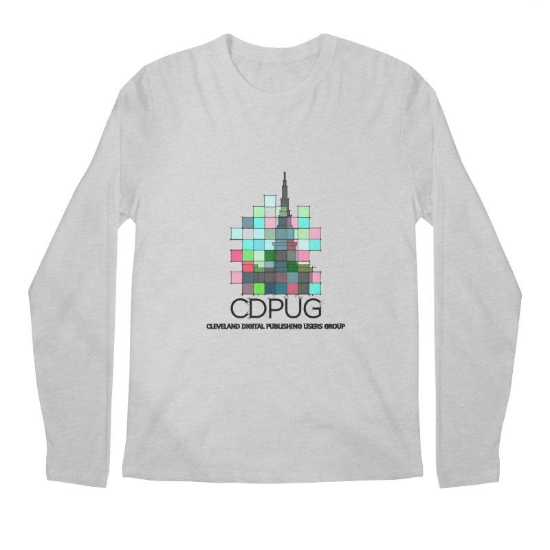 Sketch Logo Men's Regular Longsleeve T-Shirt by CDPUG's Artist Shop
