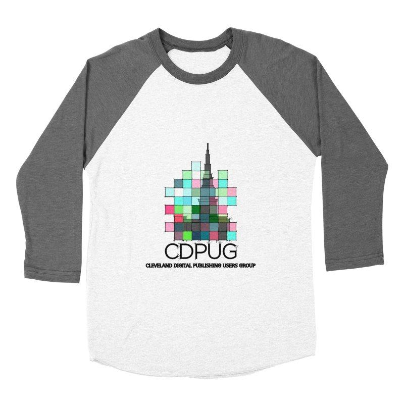 Sketch Logo Men's Baseball Triblend Longsleeve T-Shirt by CDPUG's Artist Shop