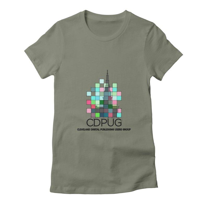 Sketch Logo Women's T-Shirt by CDPUG's Artist Shop