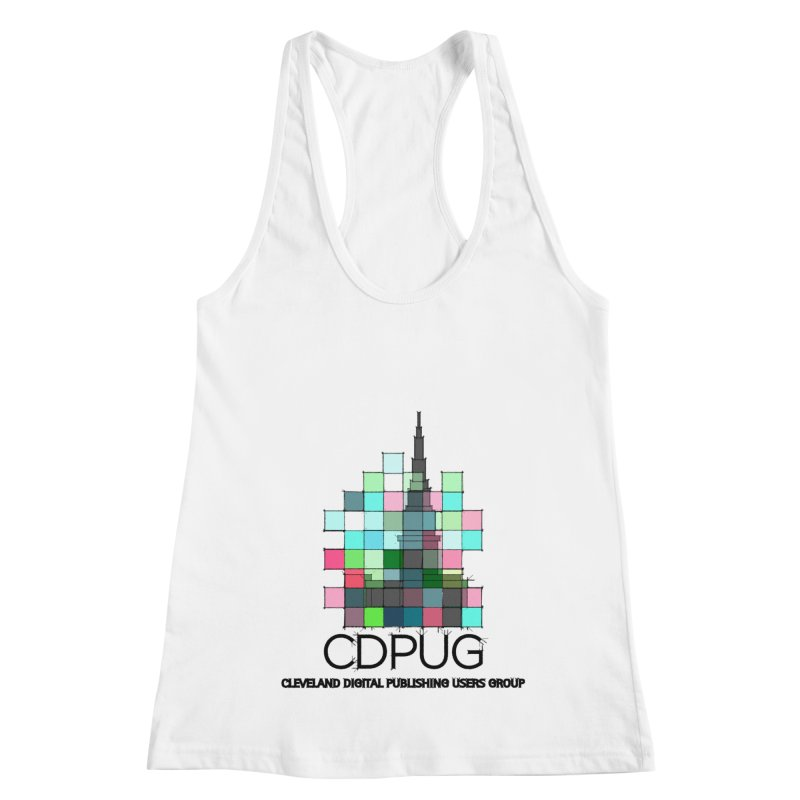 Sketch Logo Women's Racerback Tank by CDPUG's Artist Shop