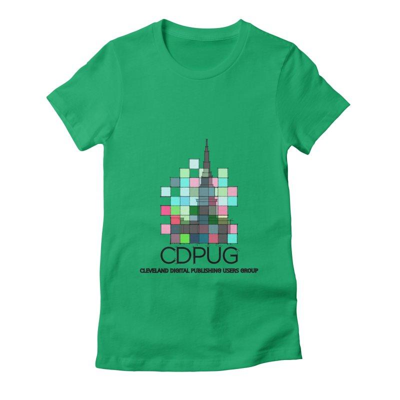 Sketch Logo Women's Fitted T-Shirt by CDPUG's Artist Shop