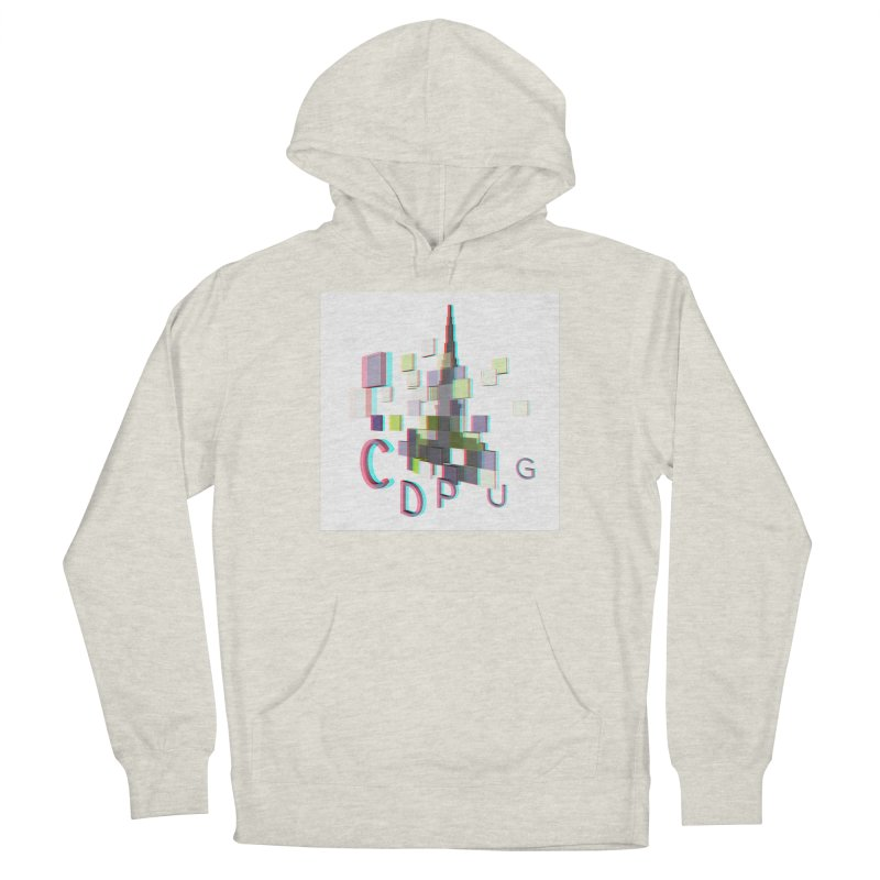 Anaglyph Logo Women's Pullover Hoody by CDPUG's Artist Shop