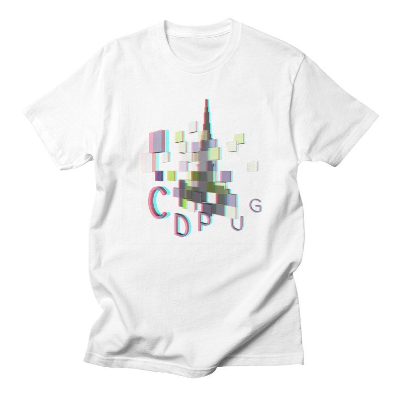 Anaglyph Logo Men's T-Shirt by CDPUG's Artist Shop