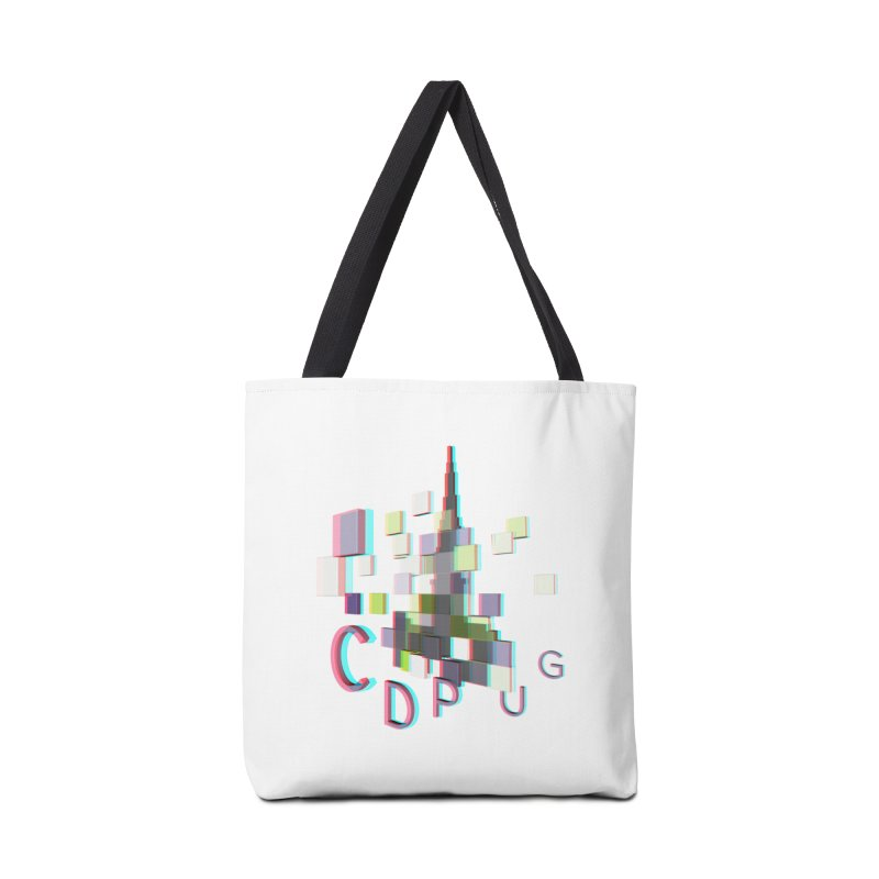 Anaglyph Logo Accessories Bag by CDPUG's Artist Shop