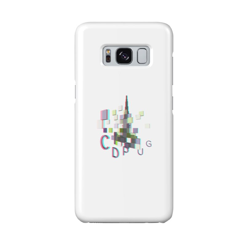 Anaglyph Logo Accessories Phone Case by CDPUG's Artist Shop