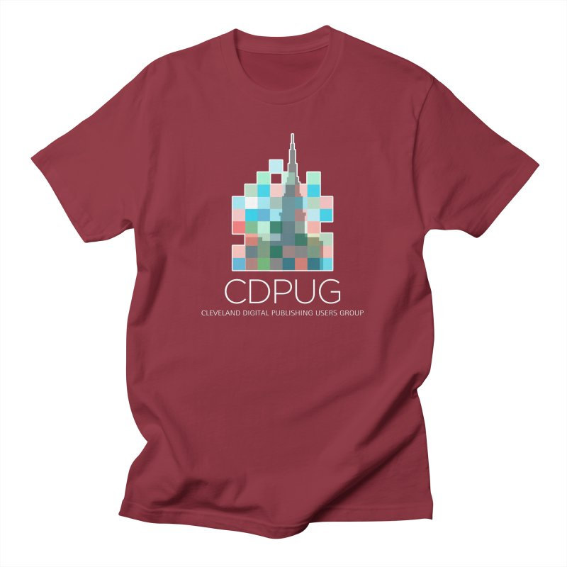 Logo with white letters Men's T-Shirt by CDPUG's Artist Shop