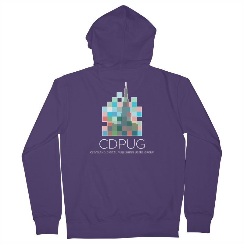 Logo with white letters Women's Zip-Up Hoody by CDPUG's Artist Shop