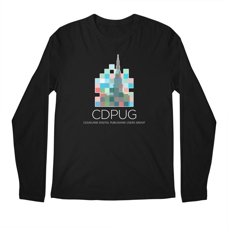 Logo with white letters Men's Regular Longsleeve T-Shirt by CDPUG's Artist Shop