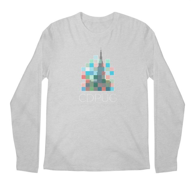 Logo with white letters Men's Longsleeve T-Shirt by CDPUG's Artist Shop