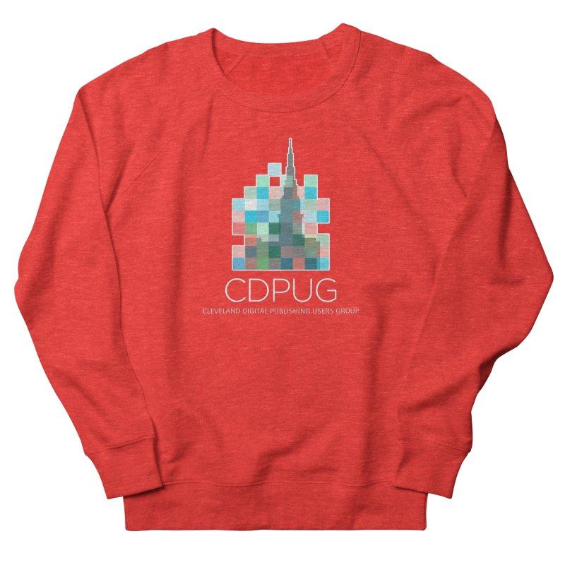 Logo with white letters Women's Sweatshirt by CDPUG's Artist Shop