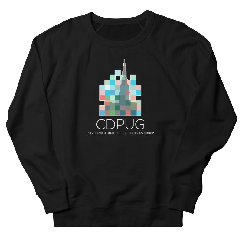 Logo with white letters Men's Sweatshirt by CDPUG's Artist Shop