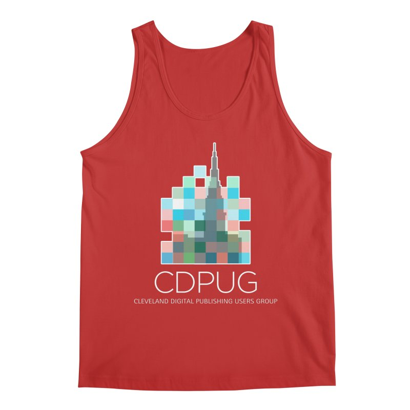 Logo with white letters Men's Tank by CDPUG's Artist Shop