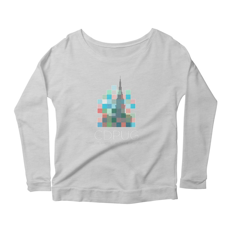 Logo with white letters Women's Longsleeve T-Shirt by CDPUG's Artist Shop