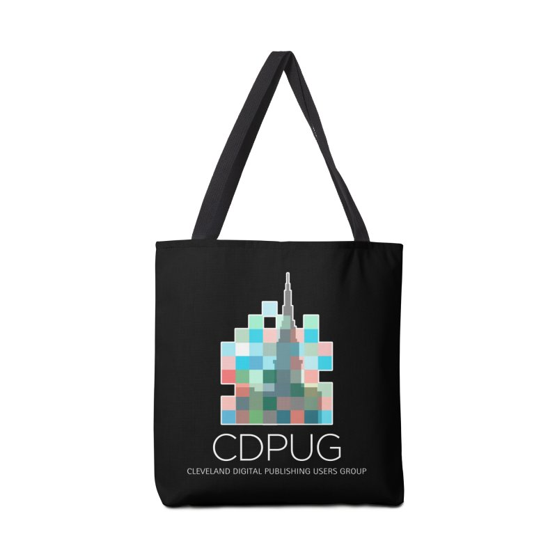 Logo with white letters Accessories Bag by CDPUG's Artist Shop