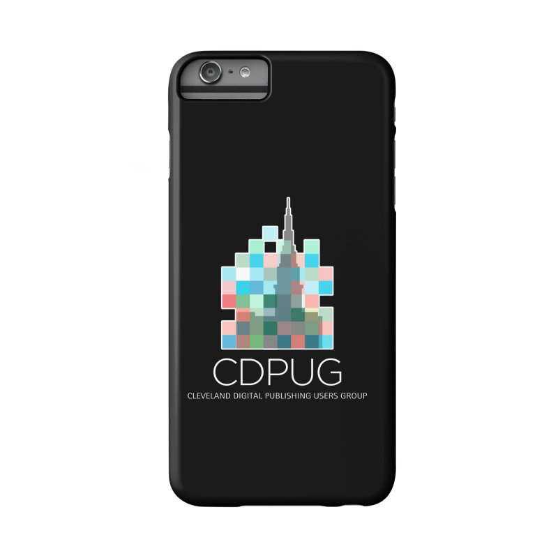 Logo with white letters Accessories Phone Case by CDPUG's Artist Shop