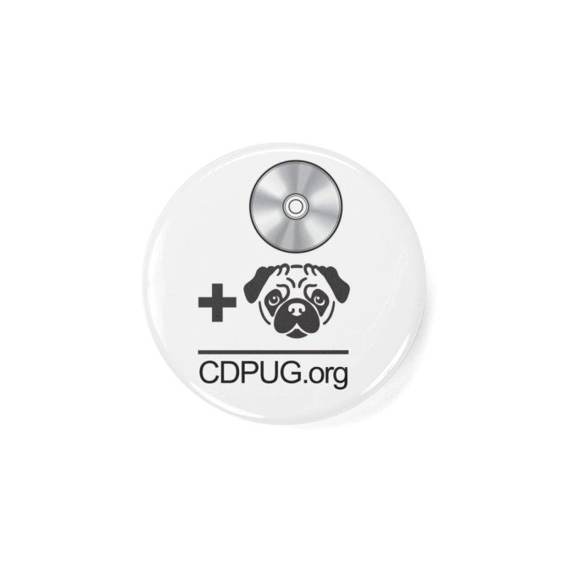 CD + PUG logo by Jeff Poplar Accessories Button by CDPUG's Artist Shop