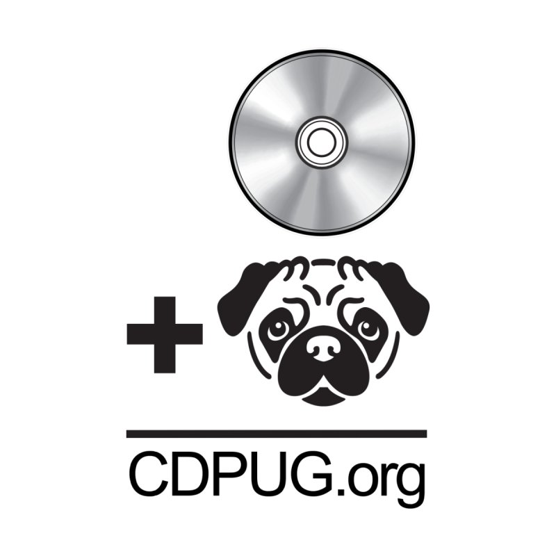 CD + PUG logo by Jeff Poplar by CDPUG's Artist Shop