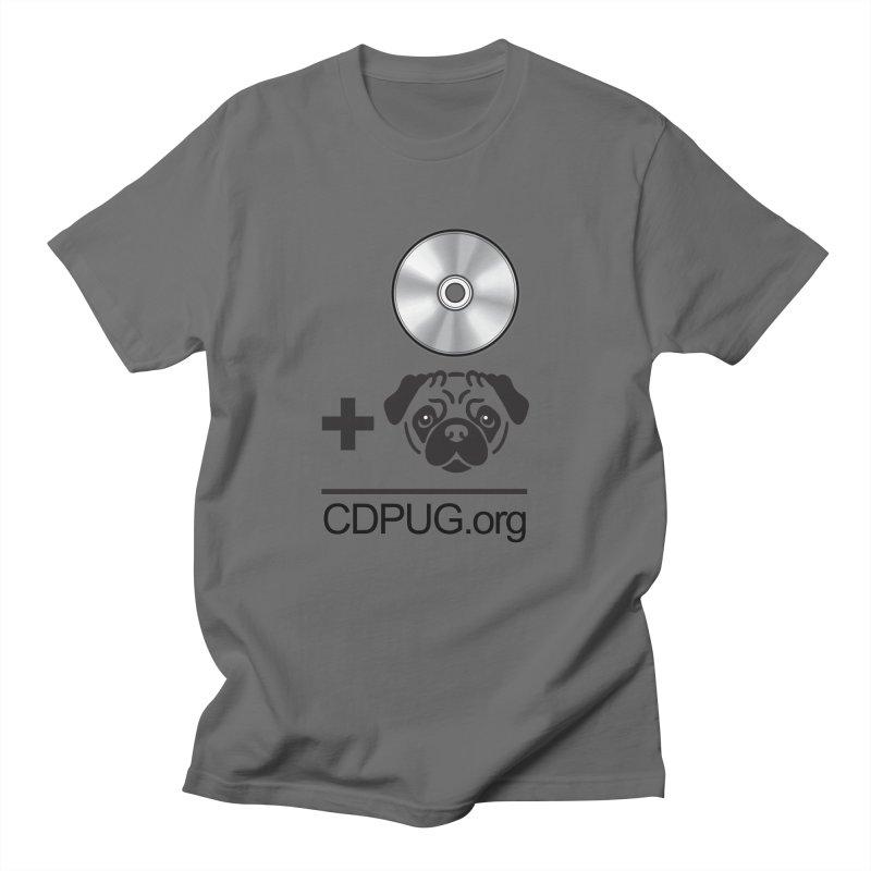 CD + PUG logo by Jeff Poplar Women's T-Shirt by CDPUG's Artist Shop