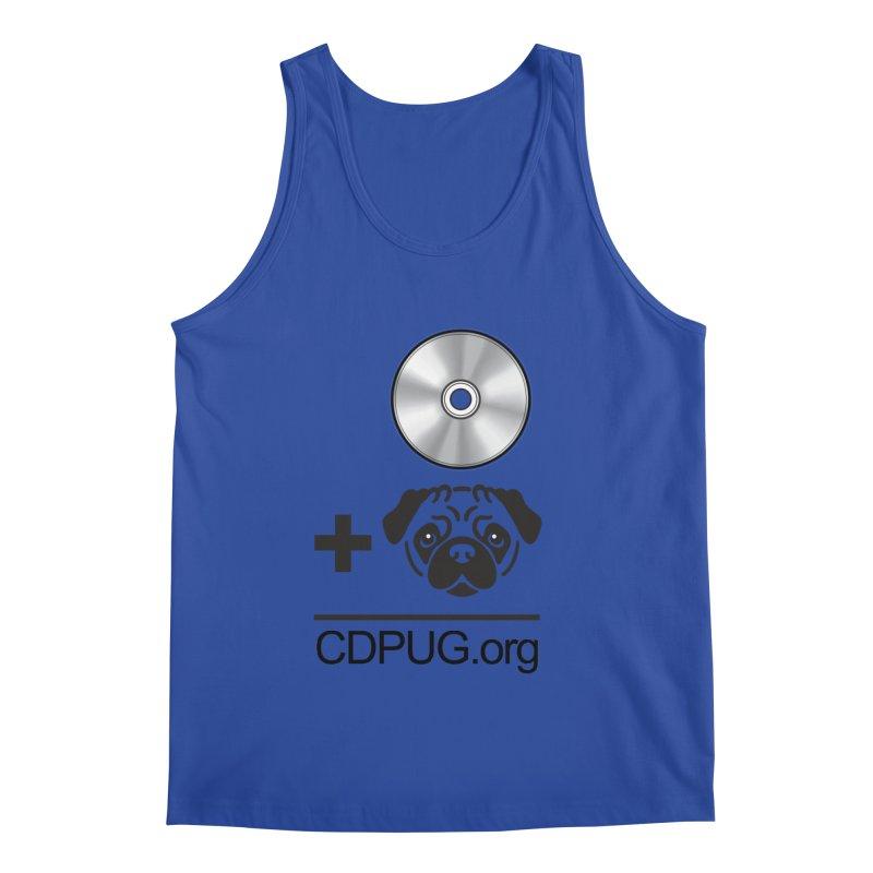 CD + PUG logo by Jeff Poplar Men's Tank by CDPUG's Artist Shop