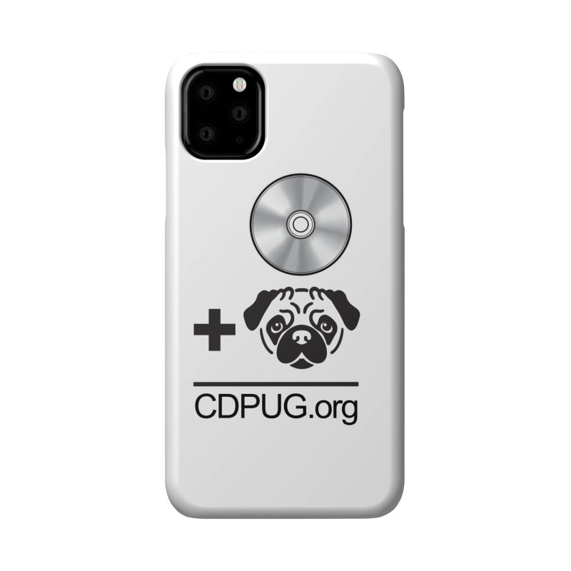 CD + PUG logo by Jeff Poplar Accessories Phone Case by CDPUG's Artist Shop