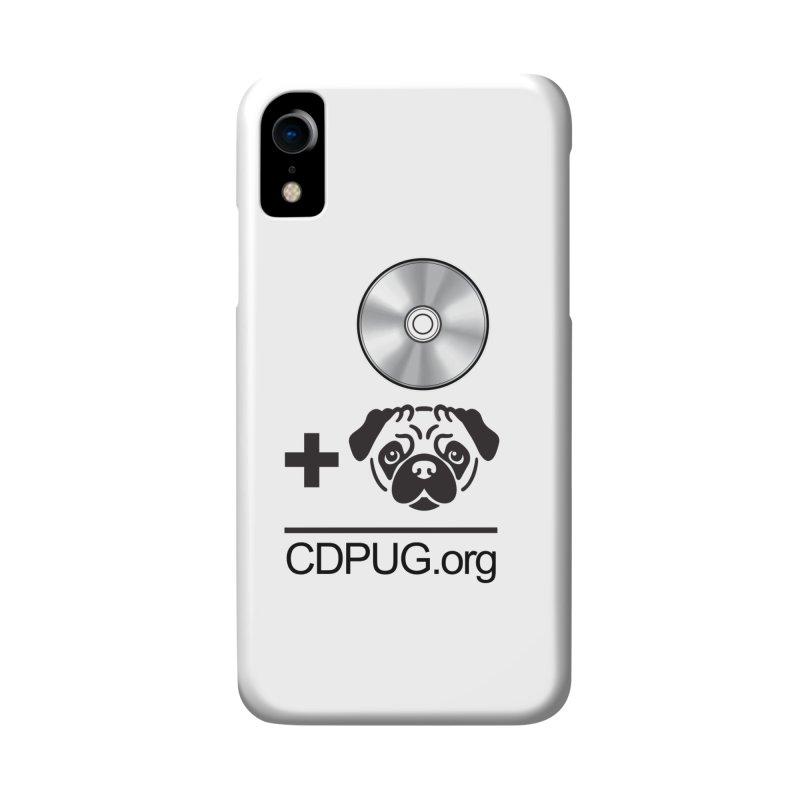 CD + PUG logo by Jeff Poplar Accessories Phone Case by CDPUG's Artist Shop