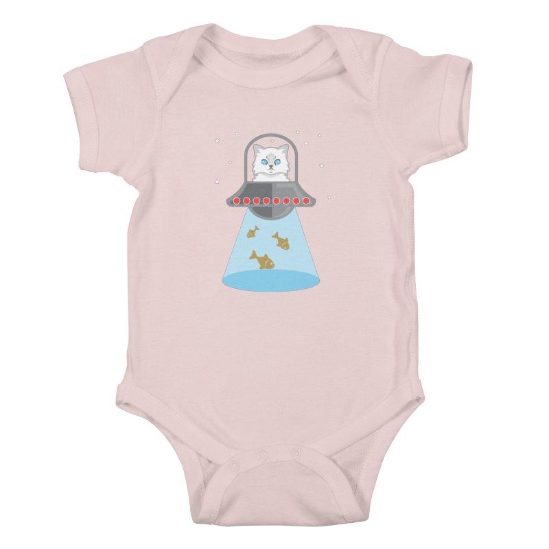Jubilee In SPAAAAACEEEE! Kids Baby Bodysuit by CGMFF