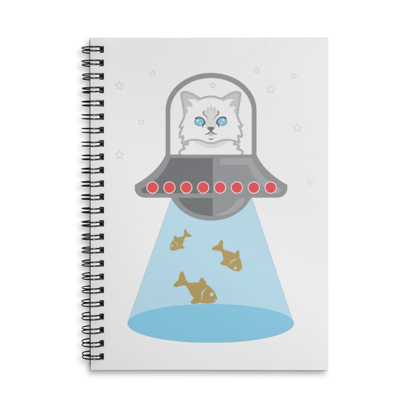 Jubilee In SPAAAAACEEEE! Accessories Lined Spiral Notebook by CGMFF
