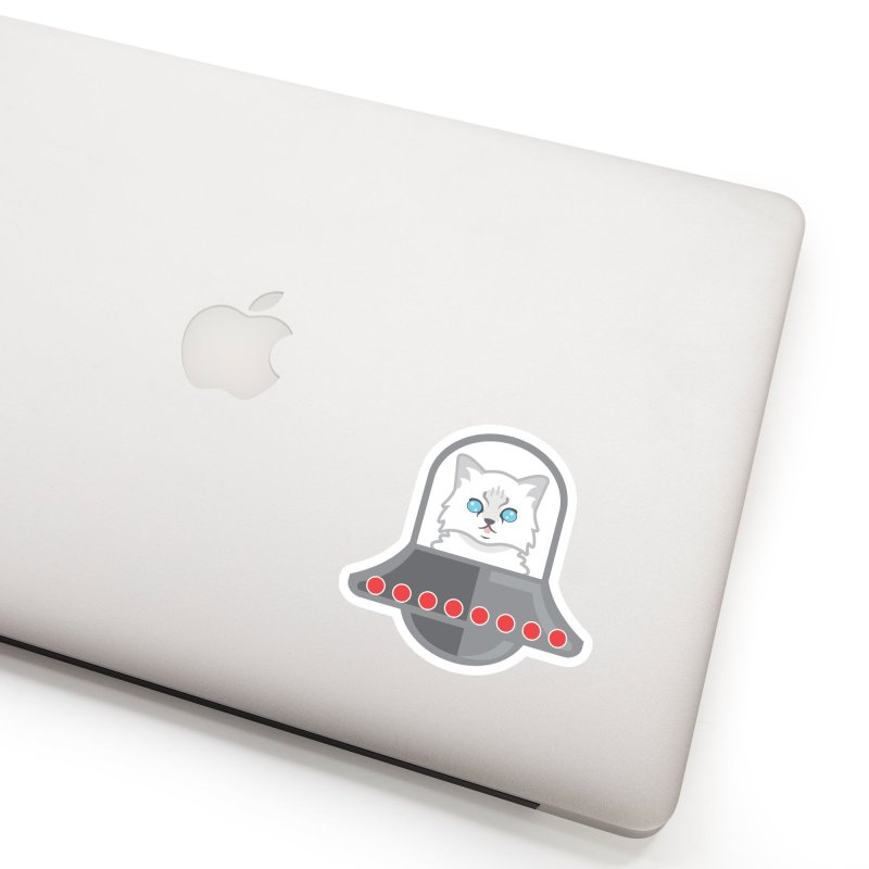Jubilee's Space Craft Accessories Sticker by CGMFF