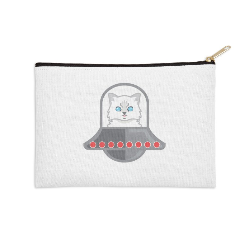 Jubilee's Space Craft Accessories Zip Pouch by CGMFF