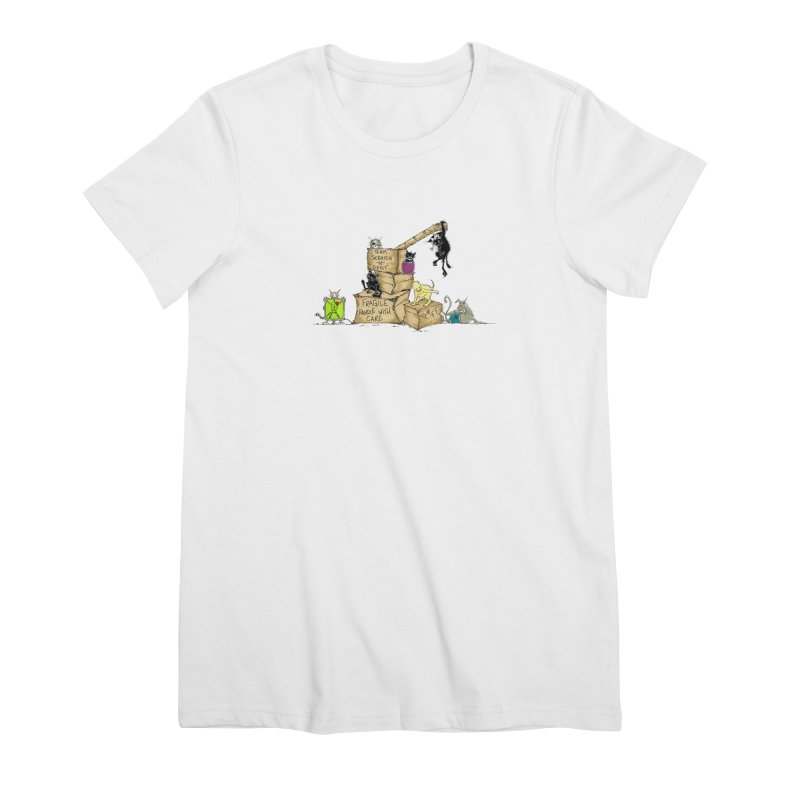 Team Scratch N' Dent Women's Premium T-Shirt by CGMFF