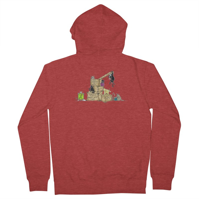 Team Scratch N' Dent Men's French Terry Zip-Up Hoody by CGMFF