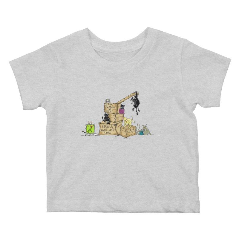 Team Scratch N' Dent Kids Baby T-Shirt by CGMFF
