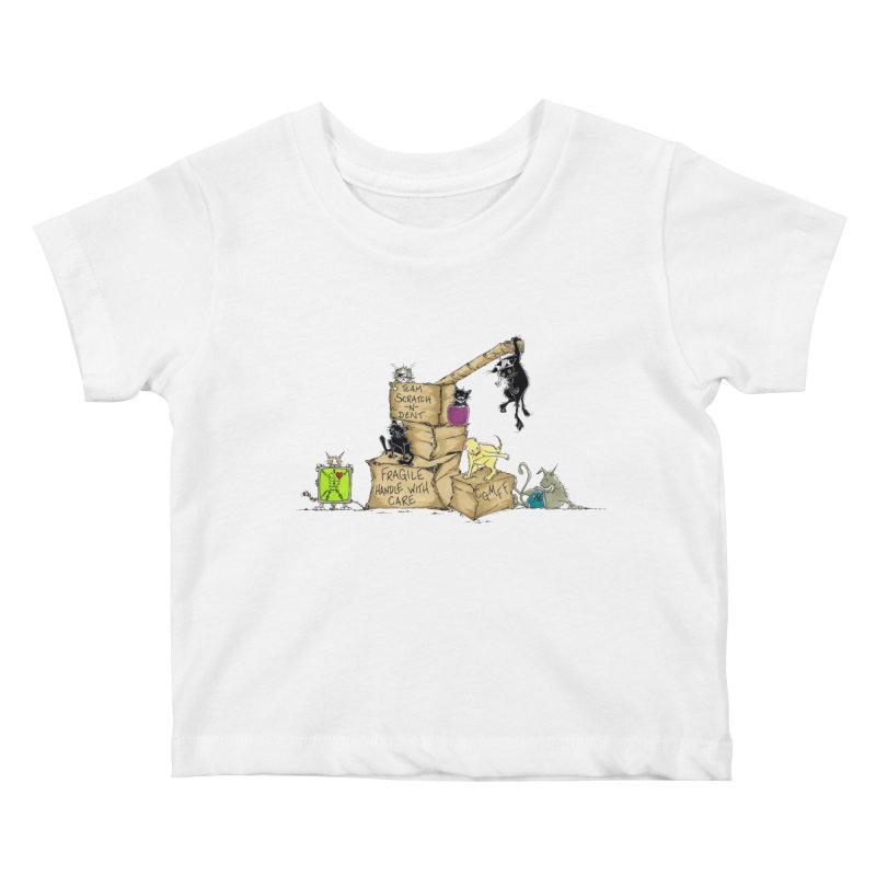 Team Scratch N' Dent Kids Baby T-Shirt by CGMFF