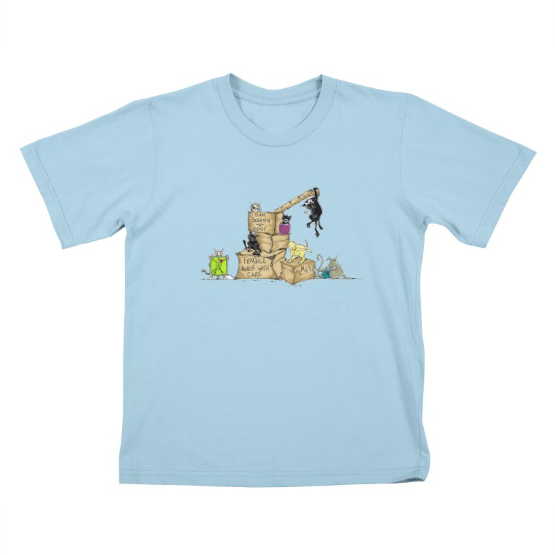 Team Scratch N' Dent Kids T-Shirt by CGMFF