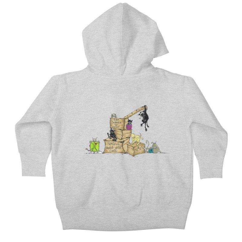 Team Scratch N' Dent Kids Baby Zip-Up Hoody by CGMFF