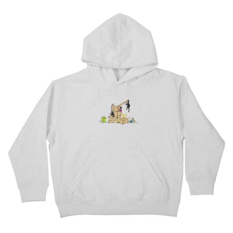 Team Scratch N' Dent Kids Pullover Hoody by CGMFF