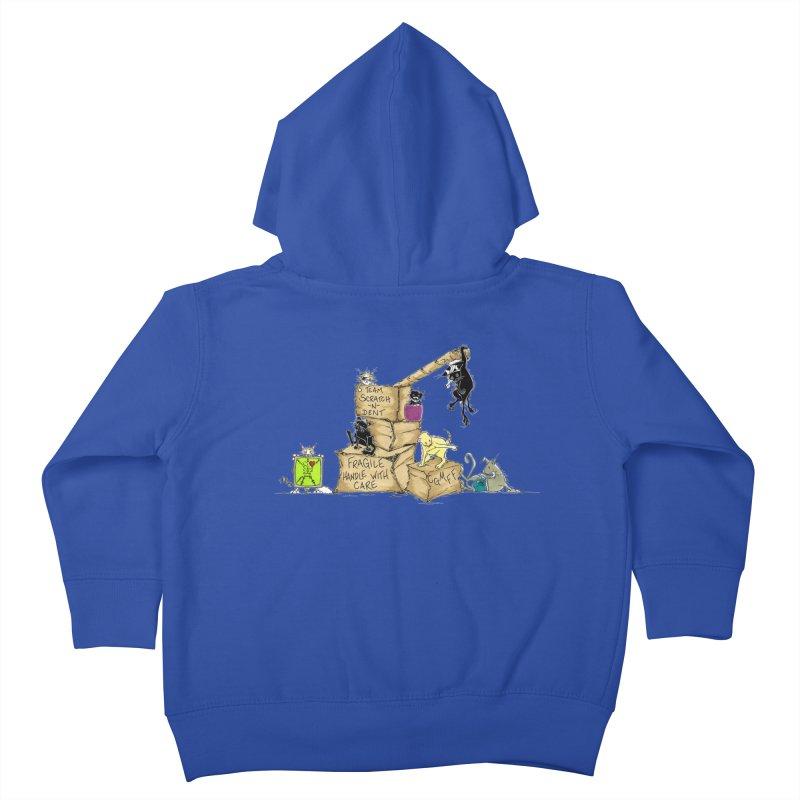 Team Scratch N' Dent Kids Toddler Zip-Up Hoody by CGMFF