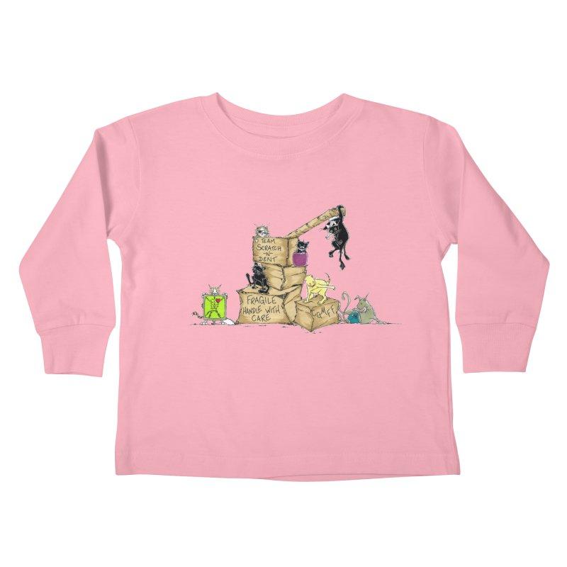 Team Scratch N' Dent Kids Toddler Longsleeve T-Shirt by CGMFF