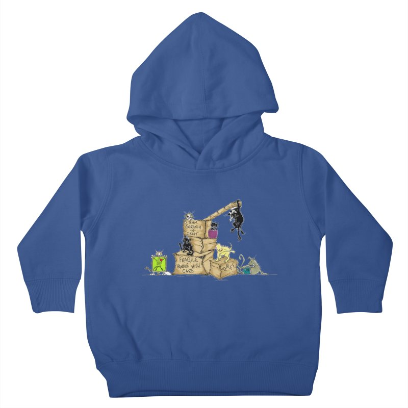 Team Scratch N' Dent Kids Toddler Pullover Hoody by CGMFF