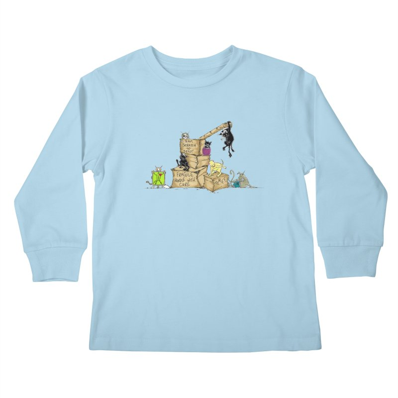 Team Scratch N' Dent Kids Longsleeve T-Shirt by CGMFF