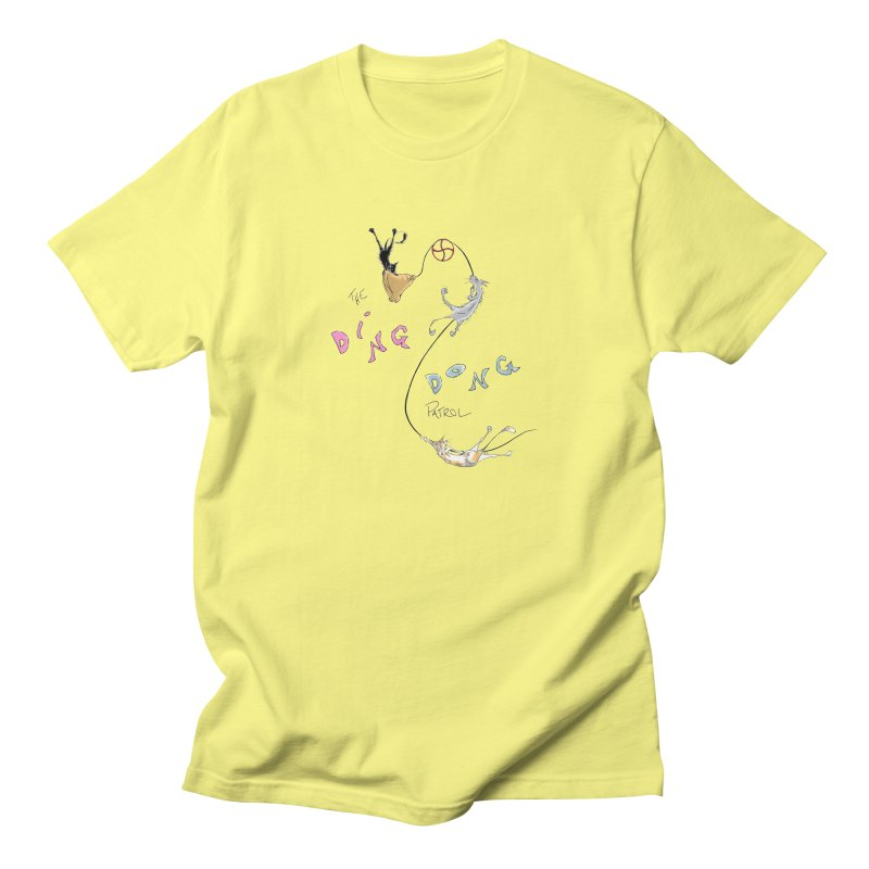 The Ding Dong Patrol! Men's T-Shirt by CGMFF