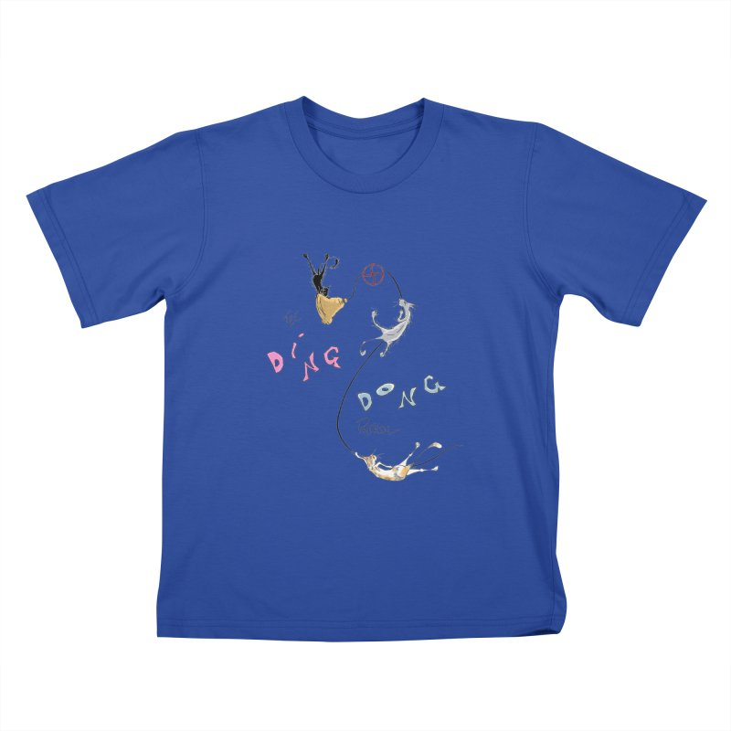 The Ding Dong Patrol! Kids T-Shirt by CGMFF