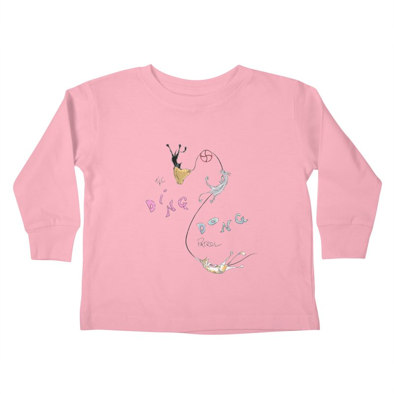 The Ding Dong Patrol! Kids Toddler Longsleeve T-Shirt by CGMFF