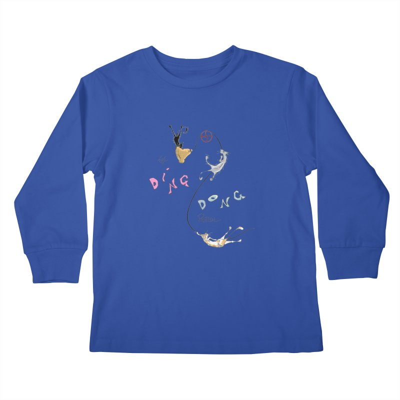 The Ding Dong Patrol! Kids Longsleeve T-Shirt by CGMFF