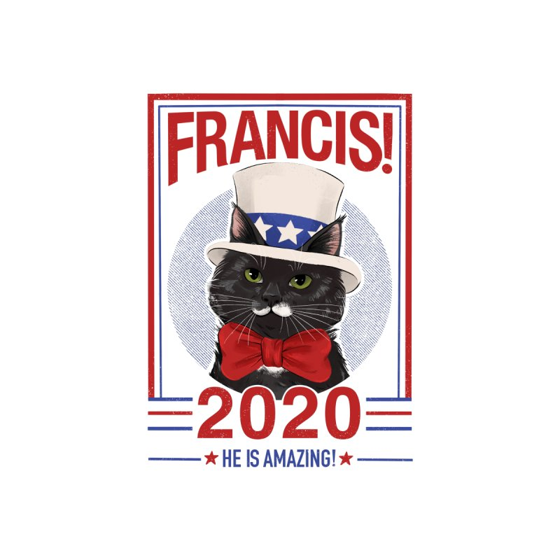 Francis! 2020  He IS Amazing! Home Shower Curtain by CGMFF