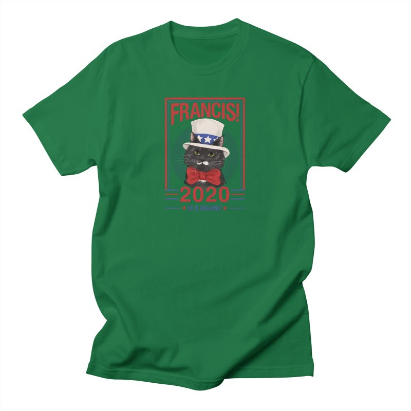 Francis! 2020  He IS Amazing! Men's T-Shirt by CGMFF